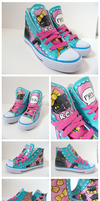 Rei the cat sneakers by ponychops