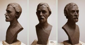 Portrait Sculpture 4 by avada5