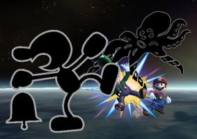 Final Smash Mr. Game and Watch by Zabutsu