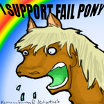 I Support Fail Pony by failponyplz
