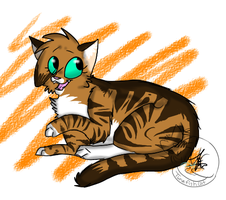 Chelsea cat by AutumLeavesofFall