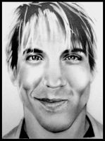 anthony kiedis by iforgotmypassword