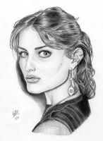Isabeli Fontana in Pencil by pirrobo