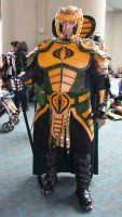 Serpentor at San Diego Comic Con 2012 by Hernandez-Henson