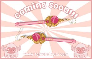 Sailormoon - Crescent Moon - Earrings by TomodachiIsland
