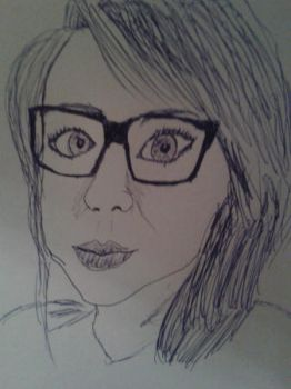 Attempted self-portrait by CharleneExtreme