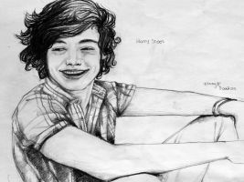 Harry styles portrait by Jijiyee