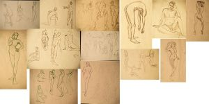 Life Drawings by marbri