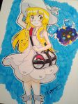 lillie and nebby! by kaguras-art
