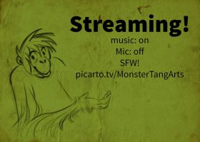 Streaming (til 4 pm est) by TigerTang