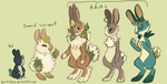 Cotton Bunnies by geckoZen
