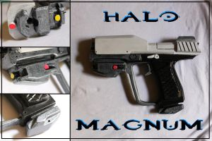 Halo Magnum by Sephiroths-Shadow
