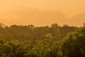 Fort Wayne Sunset 070114 by redwolf518