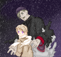 Russia and General winter. by Forever-crazy