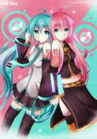 Miku and Luka - Ai dee by Diegoxpoke