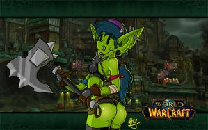 wow: goblin girl by PiTY91