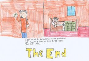 Diary of a wimpy kid project 12 by BigMarioFan99