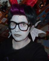 Eridan Makeup Test by DePleur