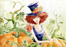 Pumpkin Garden by Menstos