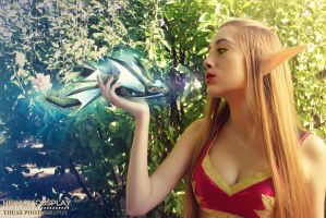 World of Warcraft Blood Elf Cosplay by Hekady by Hekady