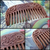 SMALL VIKING COMB by MassoGeppetto