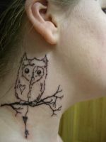 My little Owl by CandiceTheTattooist