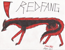 TCB: Red Fang cursed form by Animedevildeman