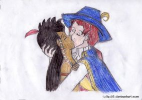 Native Pierrot and John Rolfe by tultsi93