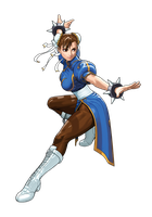 Tatsunko VS Capcom Chun-Li by hes6789