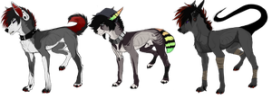 POINT/PAYPAL AUCTIONS || CLOSED by NoxiiiAdopts