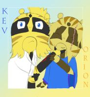 Kevvy and the gremlin brother by FeralSonic