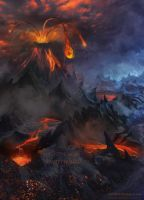 Volcano by Azot2014