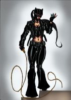 Catwoman in colour Batman Re-Image Wave 1 by dushans