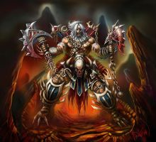 Barbarian Submission for Diablo 3 Contest by TheArtofAir