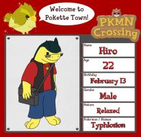 PKMN Crossing - Hiro by redliger