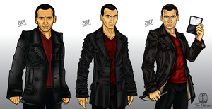 My 9th Doctors by CosmicThunder