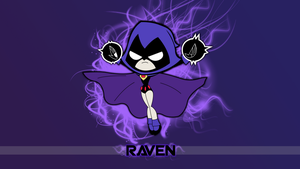 Raven Wallpaper With Text by PaperSpeakersWat