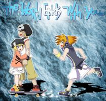 TWEWY - Neku, Beat and Rhyme by Sakura-Rose12