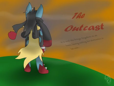 The Outcast (new comic!) Cover Page by SilverPokemon