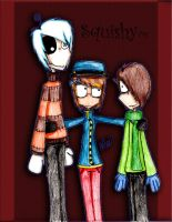 The Gang by SquishyHattress