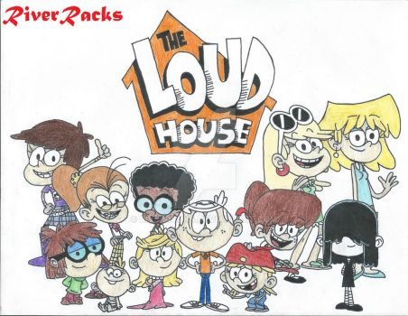 The Loud House Characters by RiverRacks