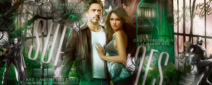 The Avengers: Iron Man and Katie Cassidy by Gordon96