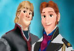 Frozen - Kristoff and Hans by Sa-chan2000