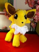 Jolteon plush .:For Sale:. by Chibi-Katie