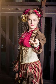 ~ Invitation to the Steampunk Circus~ by AyraLeona