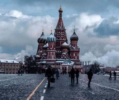 Saint Basil's Cathedral by OlgaCherkasova