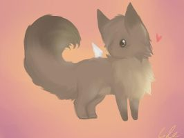 In All His Fluffyness by loverofscythe