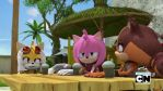 Tails and Amy face swap by SpongicX
