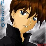 Heero from Gundam Wing by Mysterious-D