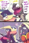 Evil Greninja [Wafu] does not like a Jynx by KickTyan